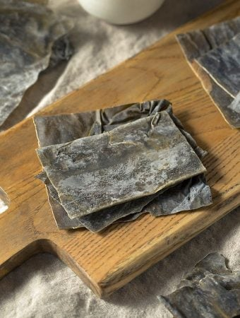 Dried Kombu Kelp Seaweed sea vegetable
