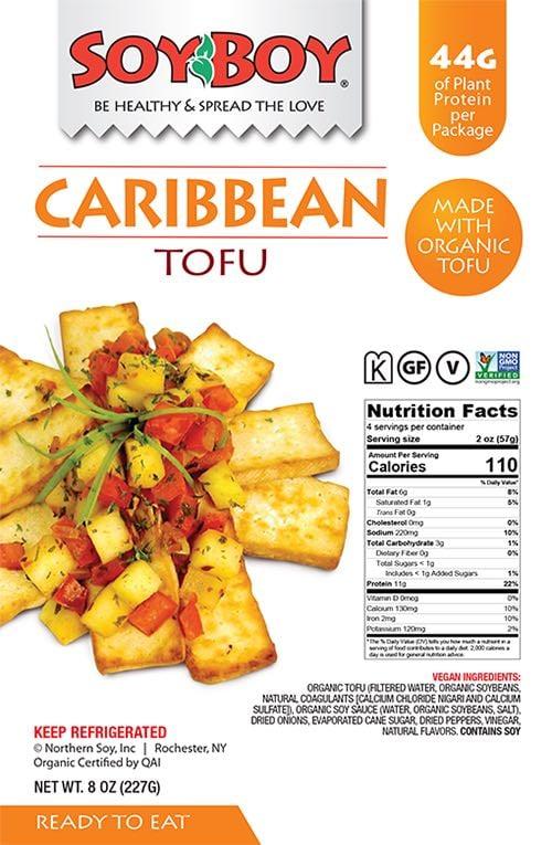 soyboy caribbean baked tofu