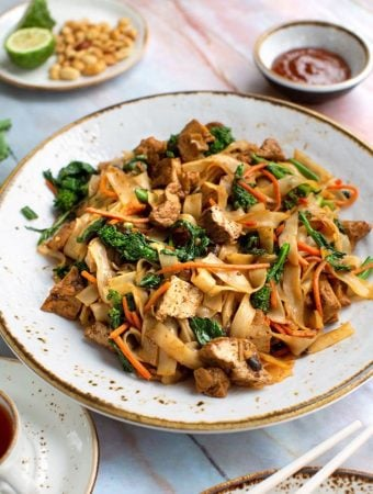 Vegan Pad See Eew with plant protein