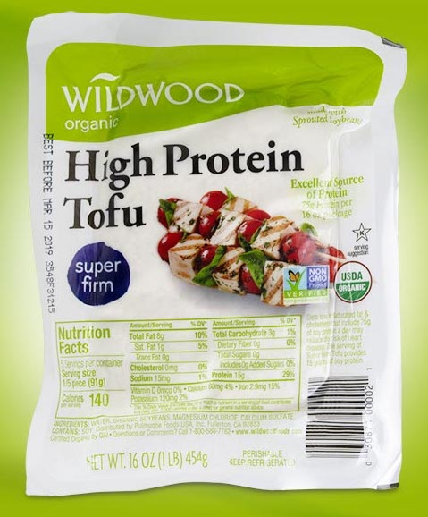 Wildwood high protein super firm tofu