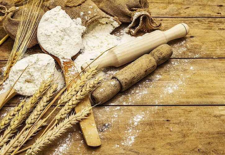 Flour and whole grains