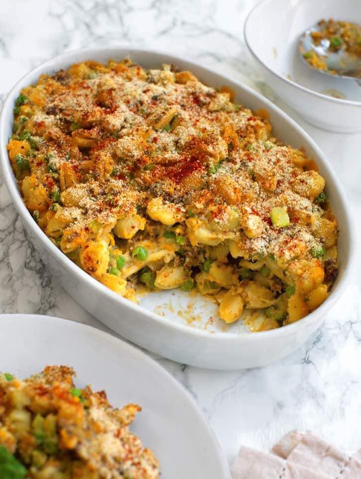 Vegan Tuna-Noodle Casserole