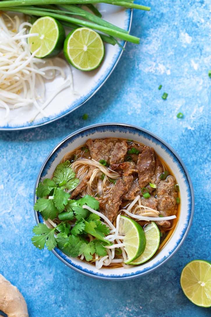 Vegan Vietnamese Pho soup
