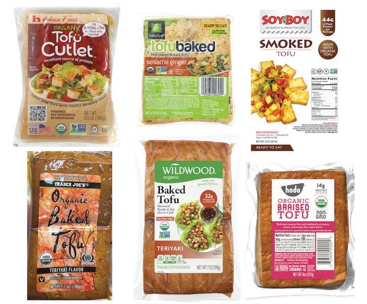 baked tofu brands and varieties