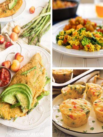 Vegan eggless egg dishes