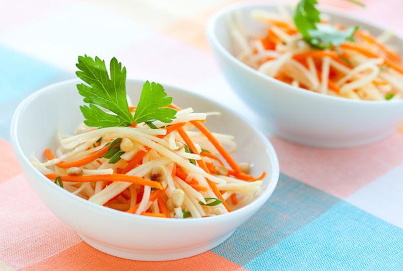 daikon and carrot salad