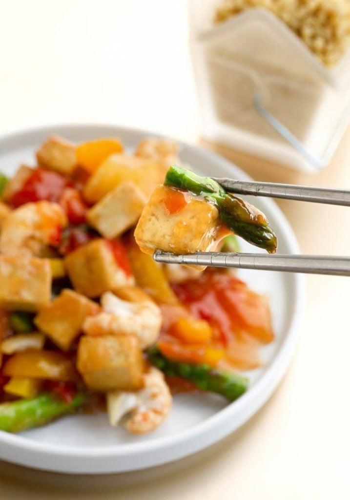 Sweet & Sour Stir-Fried Vegetables2