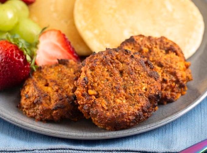 Tempeh Breakfast Sausage Patties recipe