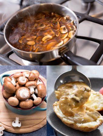 Easy vegan mushroom gravy
