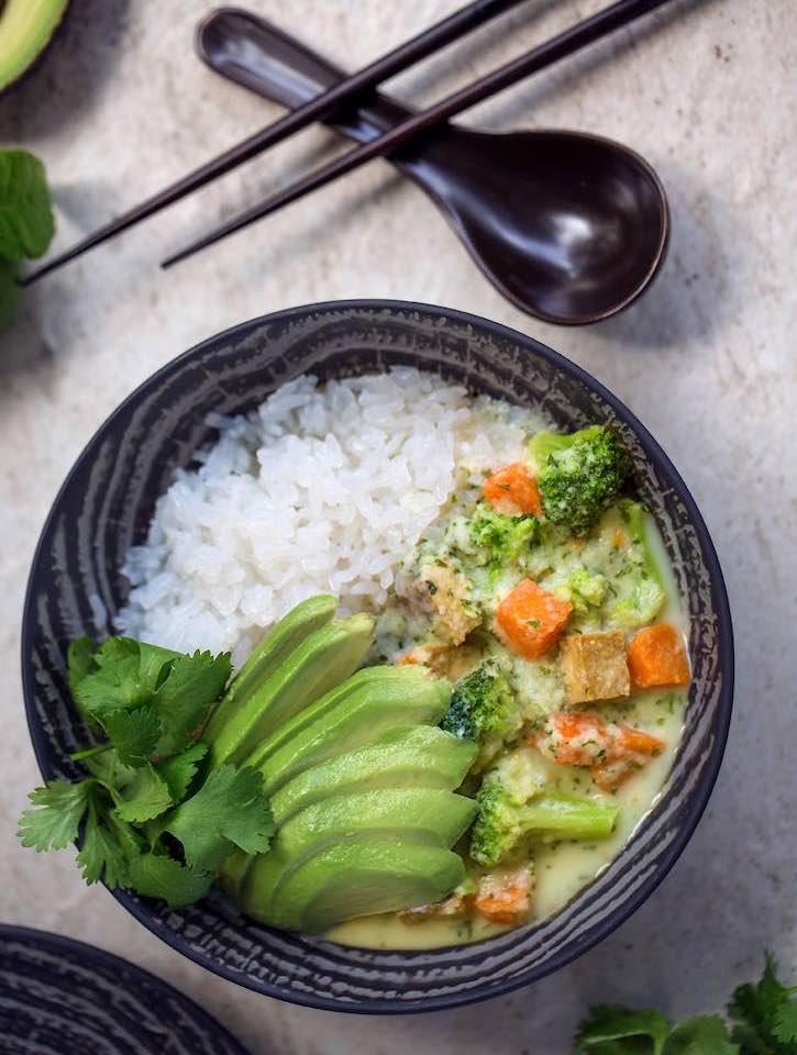 Easy Vegan Green Curry recipe