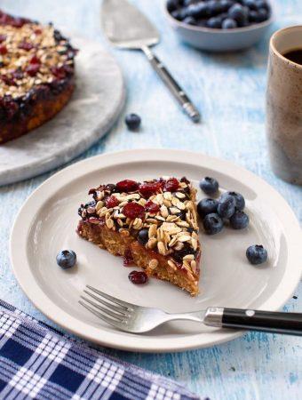 Fruity breakfast cake