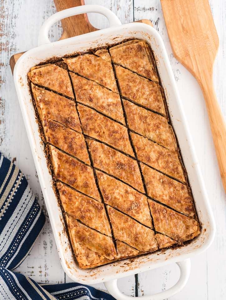 Vegan Baklava recipe