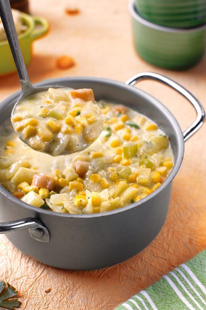 dairy-free corn chowder (vegan)