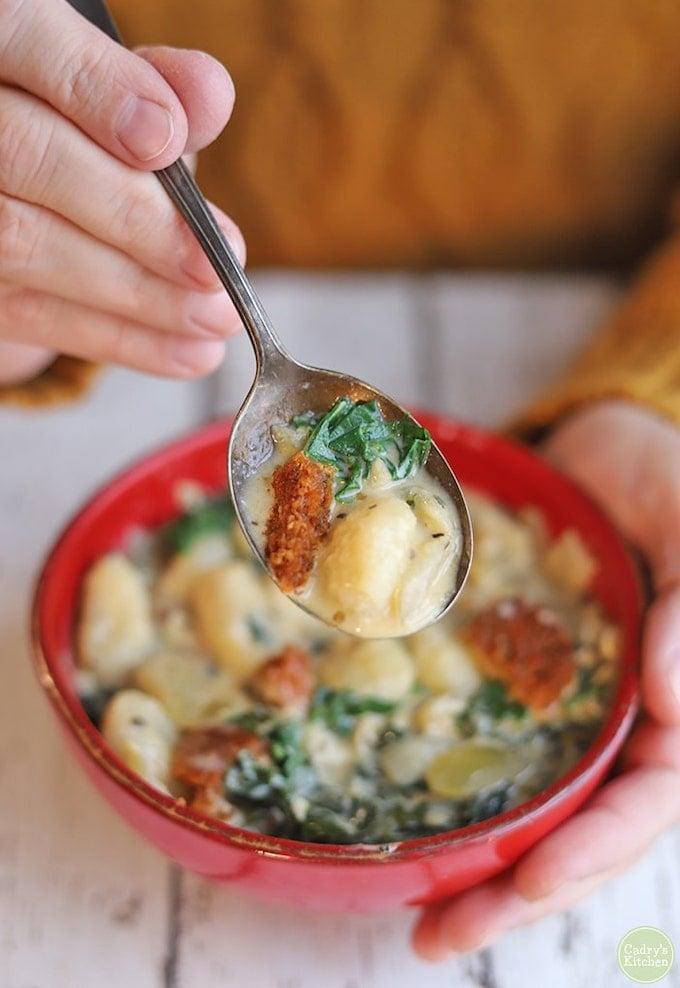 kale & beyond sausage soup