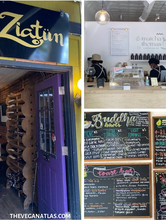 vegan and veg-friendly eateries in Beacon, NY