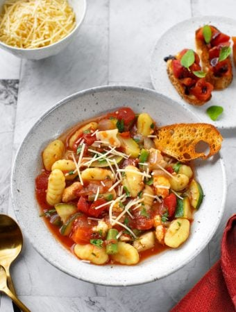 Italian Vegetable Stew with gnocchi1